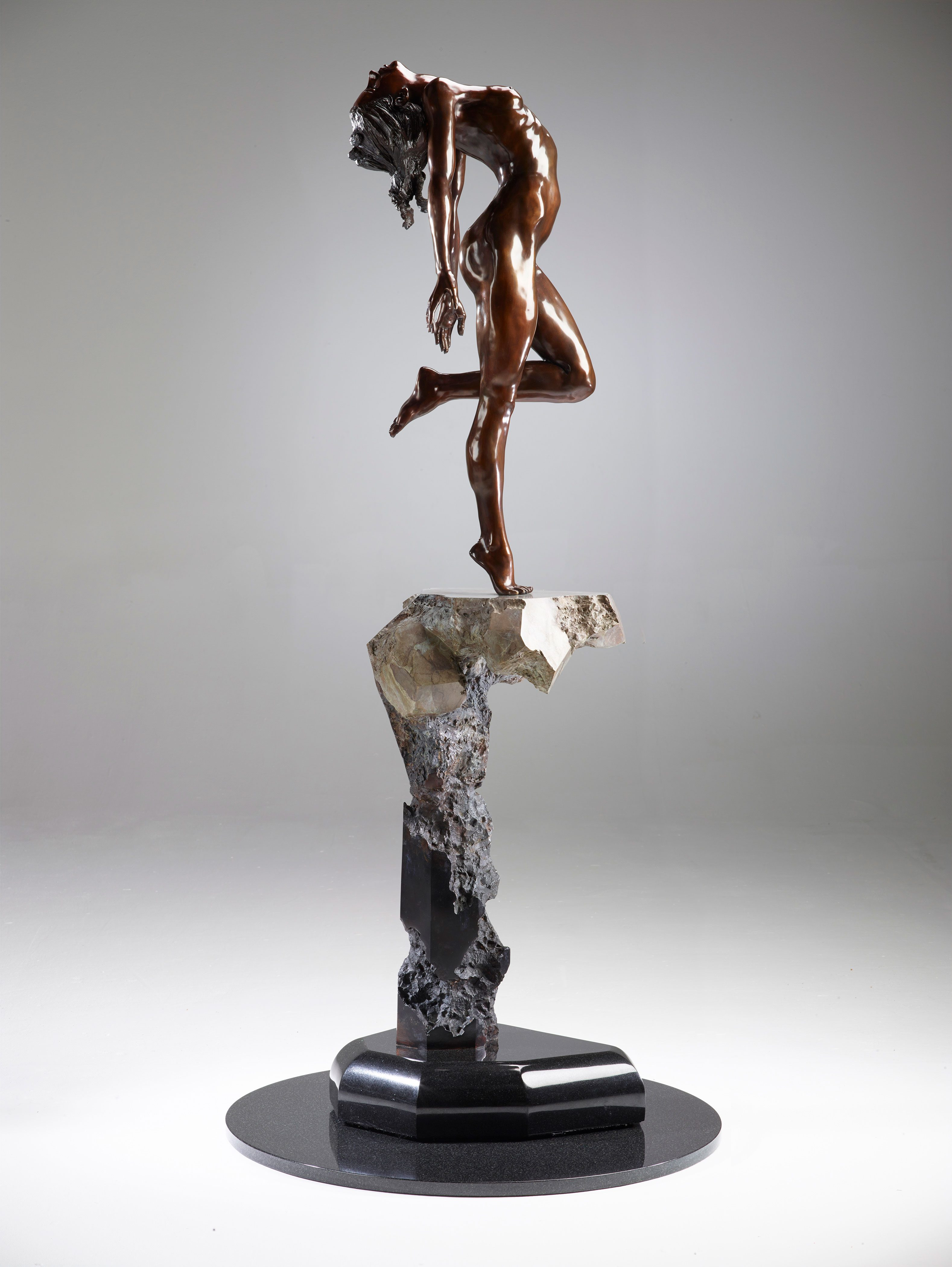 Sculpture: Turning Point by Victor Fisher